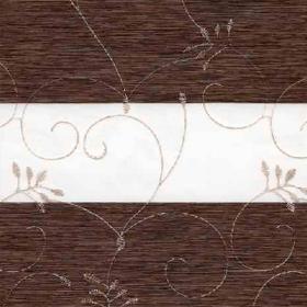 зебра ВАЛЕНСИЯ 2871 т.коричневый, 280 см