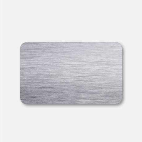Лента 25мм браш 7328 серебро