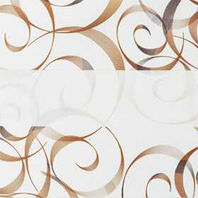 зебра АВАНГАРД 2870 коричневый, 280 см