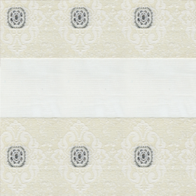 зебра ДАМАСК 0225 белый, 270 см