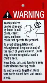 Child Safety Warning Notice